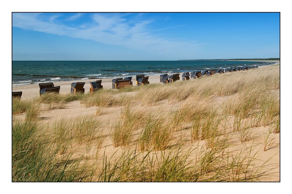 der Nordstrand auf dem Darß