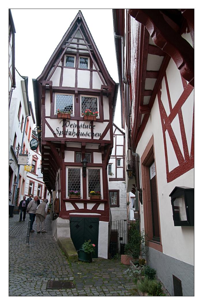 das schmalste Haus in Bernkastel-Kues