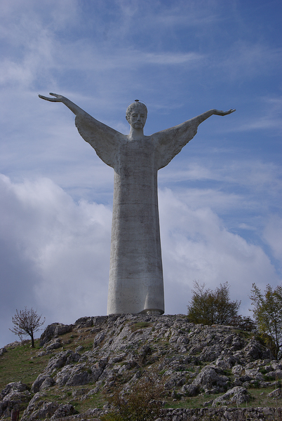 Urlaub 2008 - Il cristo di Maratea