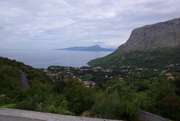 Urlaub 2008 - Blick auf Maratea