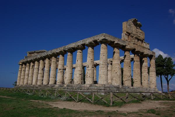 Urlaub 2008 - Paestum (alte antike griechische Siedlung)