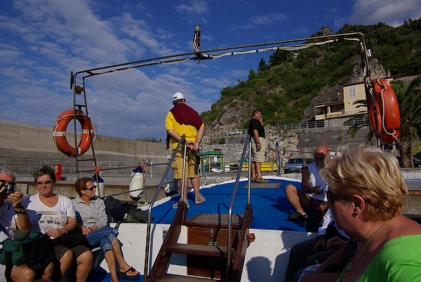 Urlaub 2008 - die Bootstour