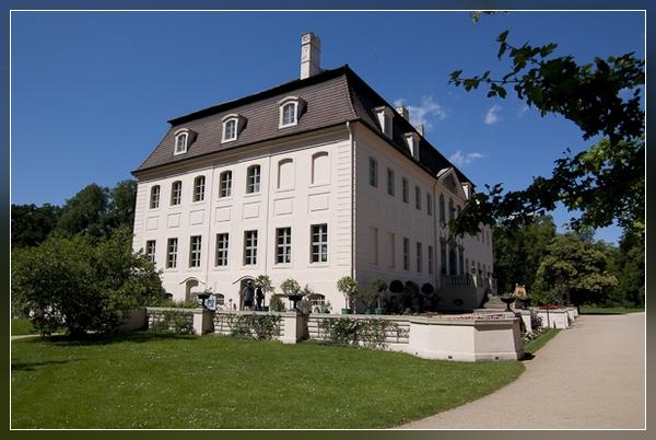 das Schloss im Branitzer Park