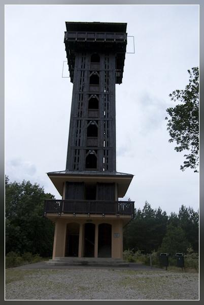 der Aussichtsturm auf dem Wehlaberg