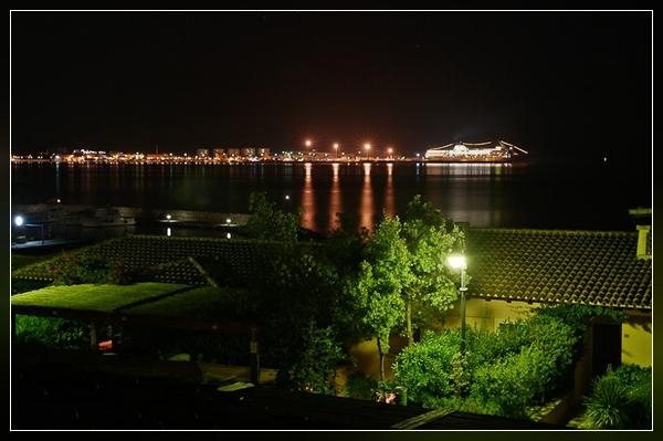Nachtblick von unserer Terrasse