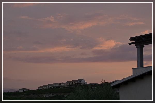 zur Sonnenuntergangszeit