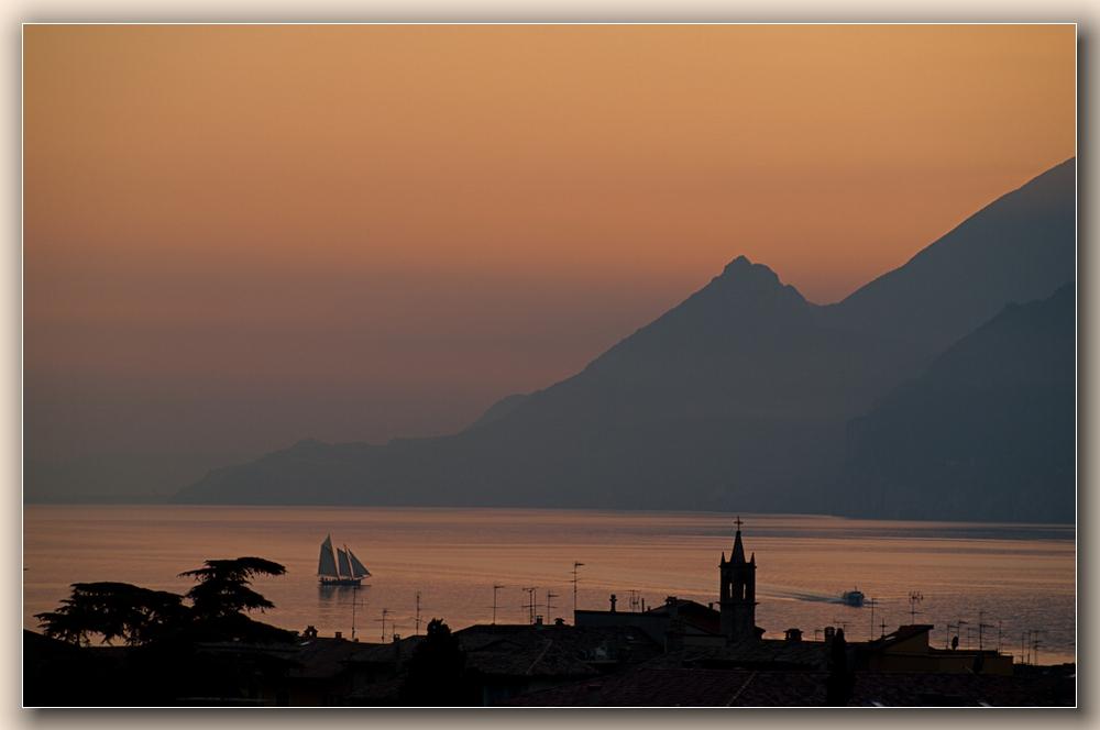 am Gardasee (auf der Heimreise)